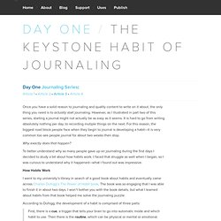The Keystone Habit of Journaling