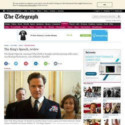 The King's Speech, review