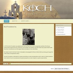 Koch Foundation