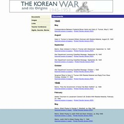 The Korean War And Its Origins, 1945-1953