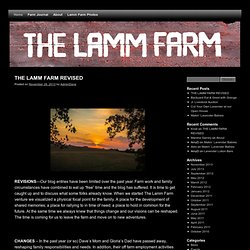 The Lamm Farm | A Family Farm