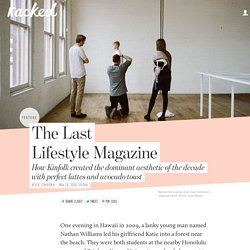 The Last Lifestyle Magazine