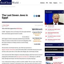 The Last Seven Jews in Egypt