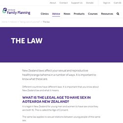 The Law - Family Planning