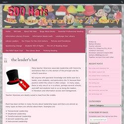 The Leader's Hat (Barbara Braxton)
