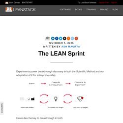 The LEAN Sprint
