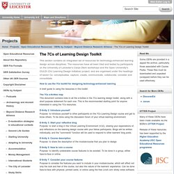 The 7Cs of Learning Design Toolkit
