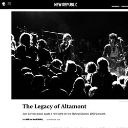 The Legacy of Altamont
