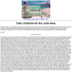 the legend of osiris essay Gigi orphali 9-17-12 p 7 osiris and isis creation myth mythology opens up a hidden gate of information about a custom essay sample on osiris and iris creation myth.