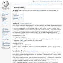 The Legible City