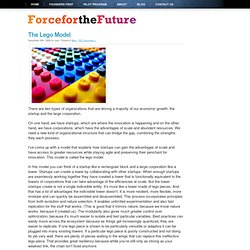 The Lego Model « Force For the Future