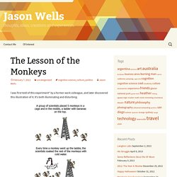 The Lesson of the Monkeys | Jason Wells
