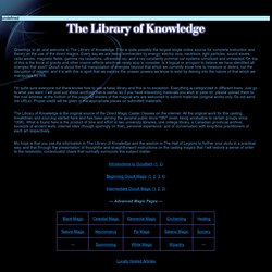 The Library of Knowledge
