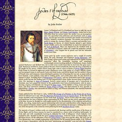The Life of King James I of England