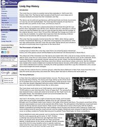 The Lindy Circle - Lindy Hop History