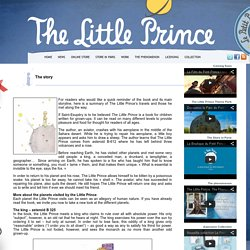 The Little Prince » The story