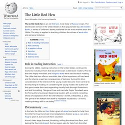 The Little Red Hen - Wikipedia