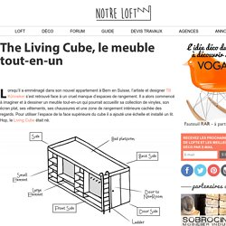 The Living Cube, le meuble tout-en-un