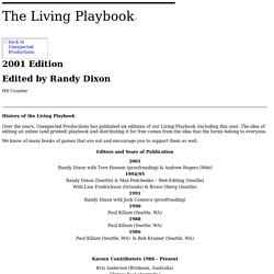 The Living PlayBook