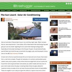 The Sun Lizard - Solar Air Conditioning
