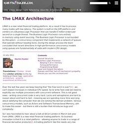 The LMAX Architecture
