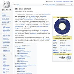 The Loco-Motion - Wikipedia