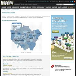The 33 London Boroughs