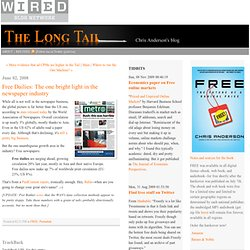 The Long Tail - Wired Blogs