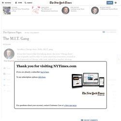 The M.I.T. Gang