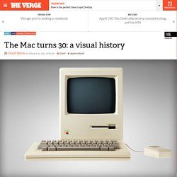 The Mac turns 30: a visual history