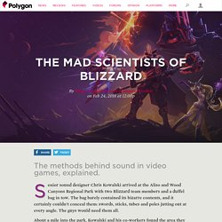 The mad scientists of Blizzard