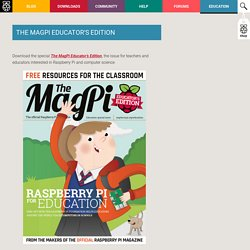 The MagPi Educator's Edition