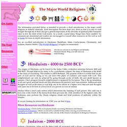 The major world religions