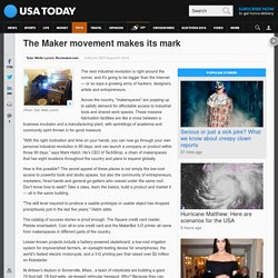 The Maker movement makes its mark