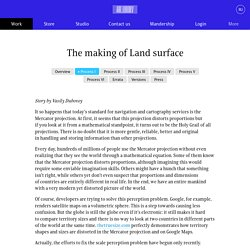 The making of Land surface