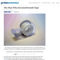 The Man Who Invented Scotch Tape