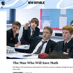 The Man Who Will Save Math
