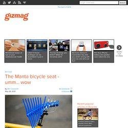 The Manta bicycle seat - umm... wow