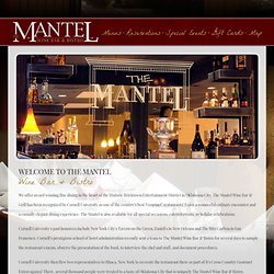 The Mantel Wine and Bar Bistro