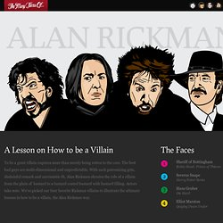 The Many Faces Of… Alan Rickman