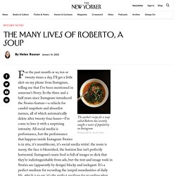 The Many Lives of Roberto, a Soup