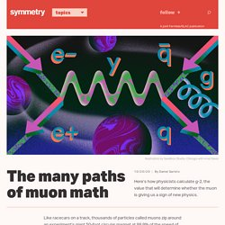 The many paths of muon math