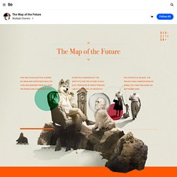 The map of the future (Wired Italia) on the Behance Network