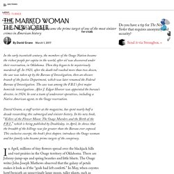 The Marked Woman