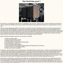 The Mash Tun,