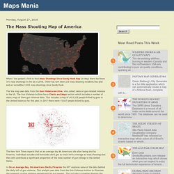 The Mass Shooting Map of America