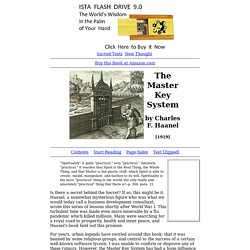 The Master Key System Index
