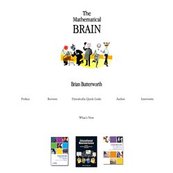 The Mathematical Brain