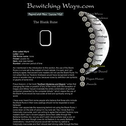 Wiccan Runes and Their Meanings