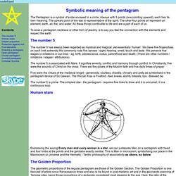 The Meaning Of A Pentagram